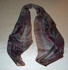 Silk Paisley Scarf