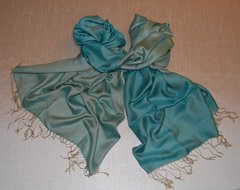 Plain reversible Silk Scarf