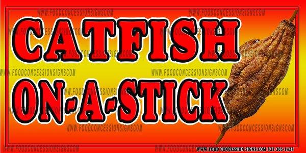 catfish on a stick