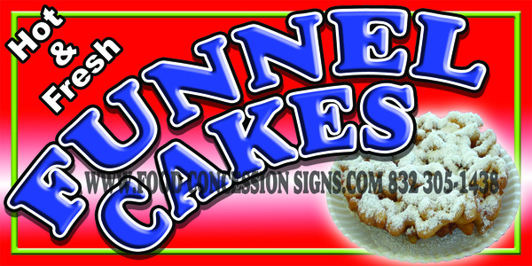 Funnel Cake red