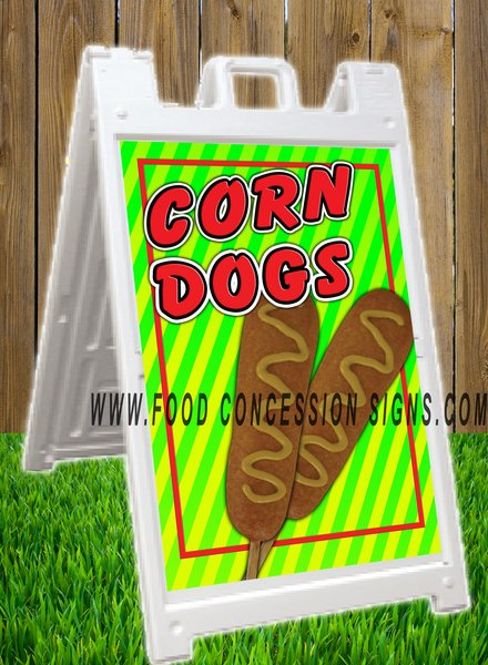 CORN DOG A FRAME