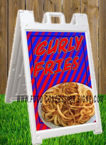 CURLY FRIES A FRAME