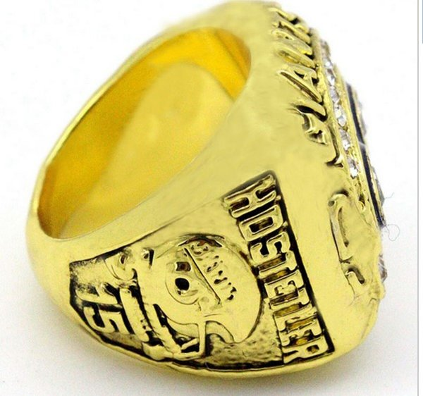 Ny Giants 1990 Super Bowl Replica Fan Ring 24k Gold Plated