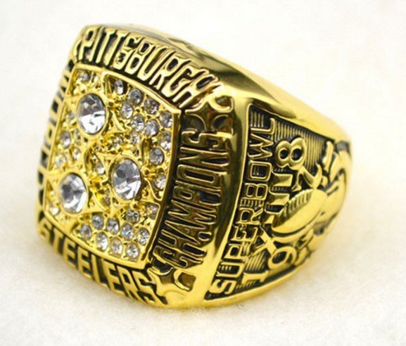 Authentic Steelers Super Bowl Ring For Sale