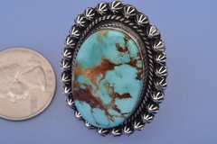 Navajo select Royston Nevada turquoise ring.
