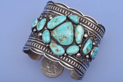 Navajo cluster cuff by Andy Cadman.