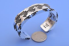 Chimney Butte Sterling lady's cuff with small wrist size.