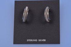 Vintage Navajo sterling earrings. SOLD!