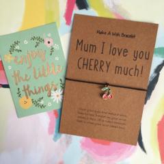 Mum I Love You Cherry Much!