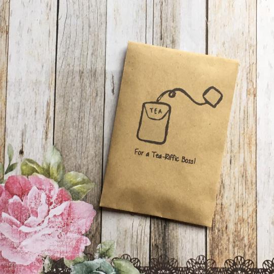 For A Tea-Riffic Boss/ custom name