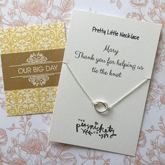 Thank You For Helping Us Tie The Knot