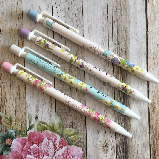 Summer Floral Mechanical Pencil
