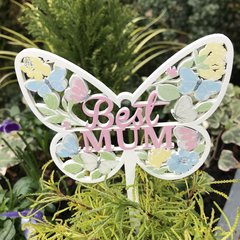 Best Mum Butterfly Pot Stake