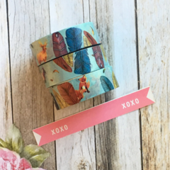 Washi Tape - Fox & Feather