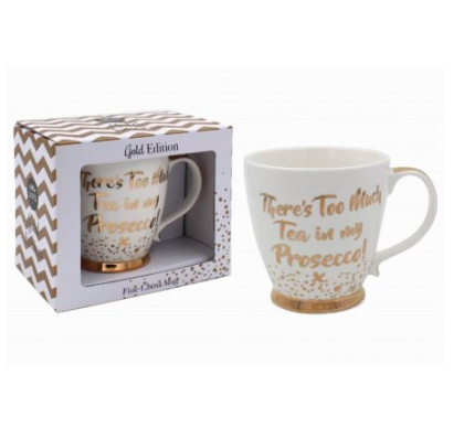 Tea/Prosecco Fine China Mug