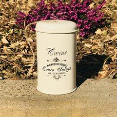 Vintage Twine Tin