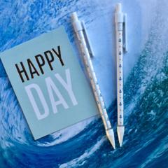 Nautical Mechanical Pencil - Anchor & Spots