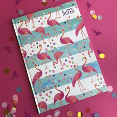 A4 Flamingo Notebook