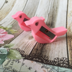 Bird Pencil Sharpener - Pink