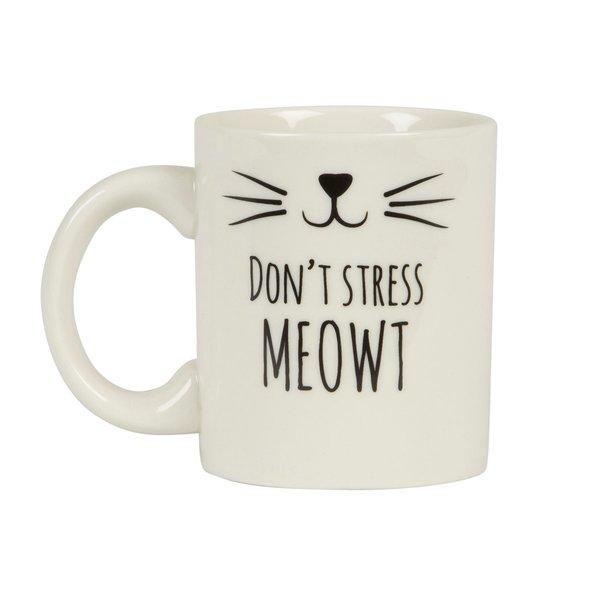 Sass & Belle Don't Stress Meowt Mug