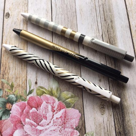 Everyday Geometric Gel Pen