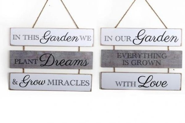 3 Tier Hanging Garden Plaque!