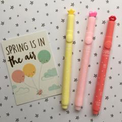 Cute Stamp Markers - Apple, Cloud, Flower, Heart, Lips, Star