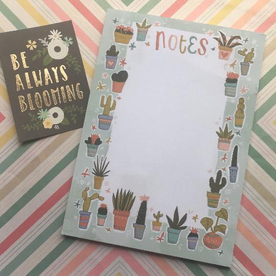 Cactus A5 Notepad
