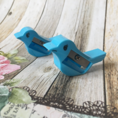 Bird Pencil Sharpener - Blue