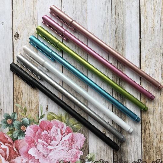 Slimline Metallic Gel Pen