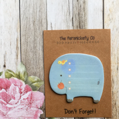 Elephant Sticky Note - Don't Forget!