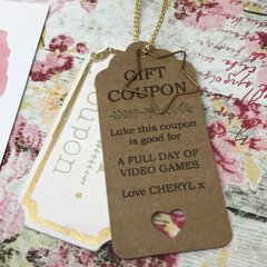 Personalised 'Gift Coupon'