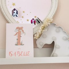 Personalised Unicorn Initial Print