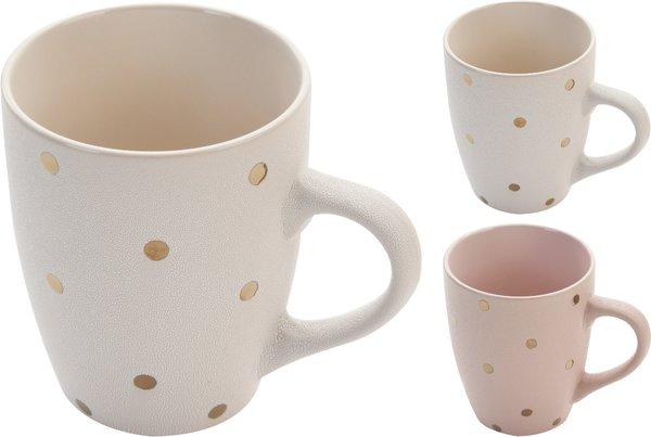 Golden Polka Dot Mug