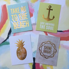 Quote Cards - Summertime!