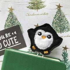 Felt Penguin Paper Clip