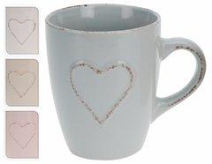 Rustic Heart Mug