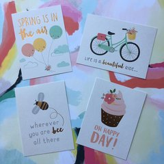 Quote Cards - Springtime