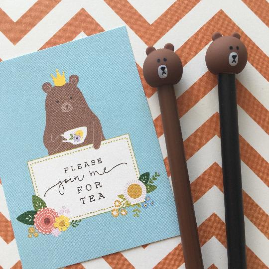 Bear Gel Pen