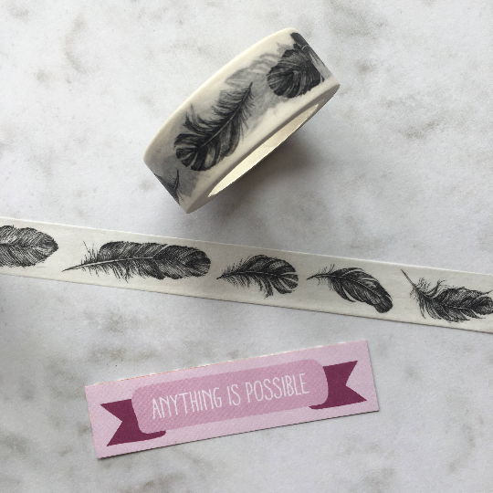 Washi Tape - Feather