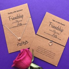 FIVER FRIDAY!! Friendship Necklace and Bracelet