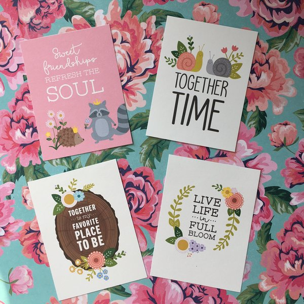 Quote Cards - Friendship