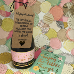 Baby Shower Bottle Gift Tags