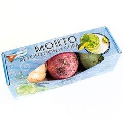Set of Three Mojito Bath Bombs