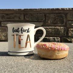 Sass & Belle But First Tea Mug