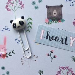 Panda Bear Paper Clip