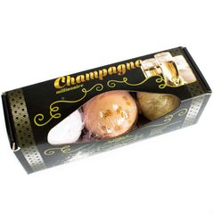 Set of Three Champagne Bath Bombs