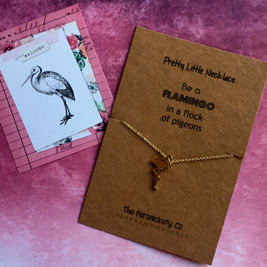 Be A Flamingo In A Flock Of Pigeons,