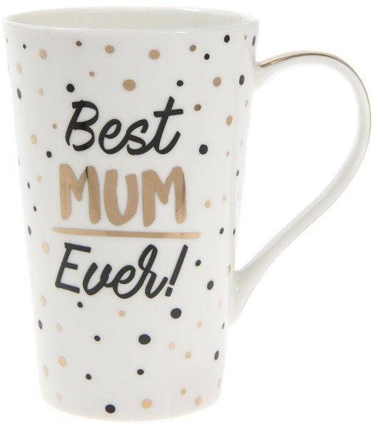 Golden Spot Latte Mug - Best Mum Ever!