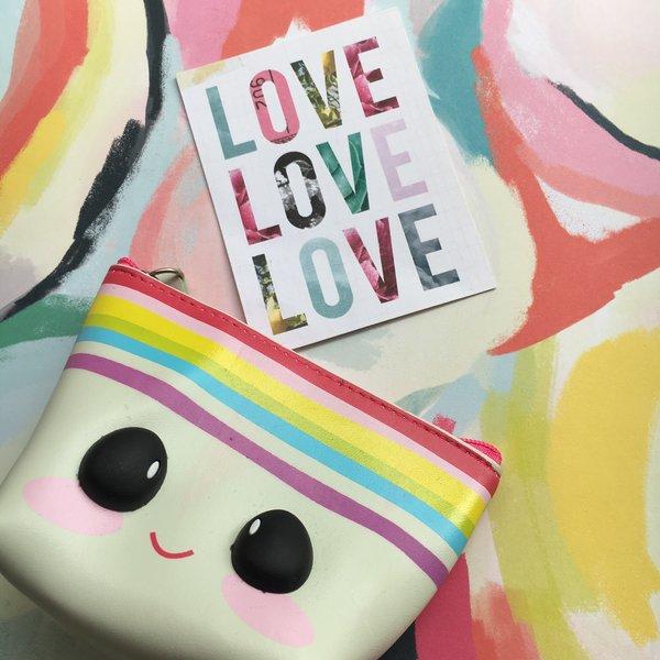 Mini Rainbow Stationery Pouch